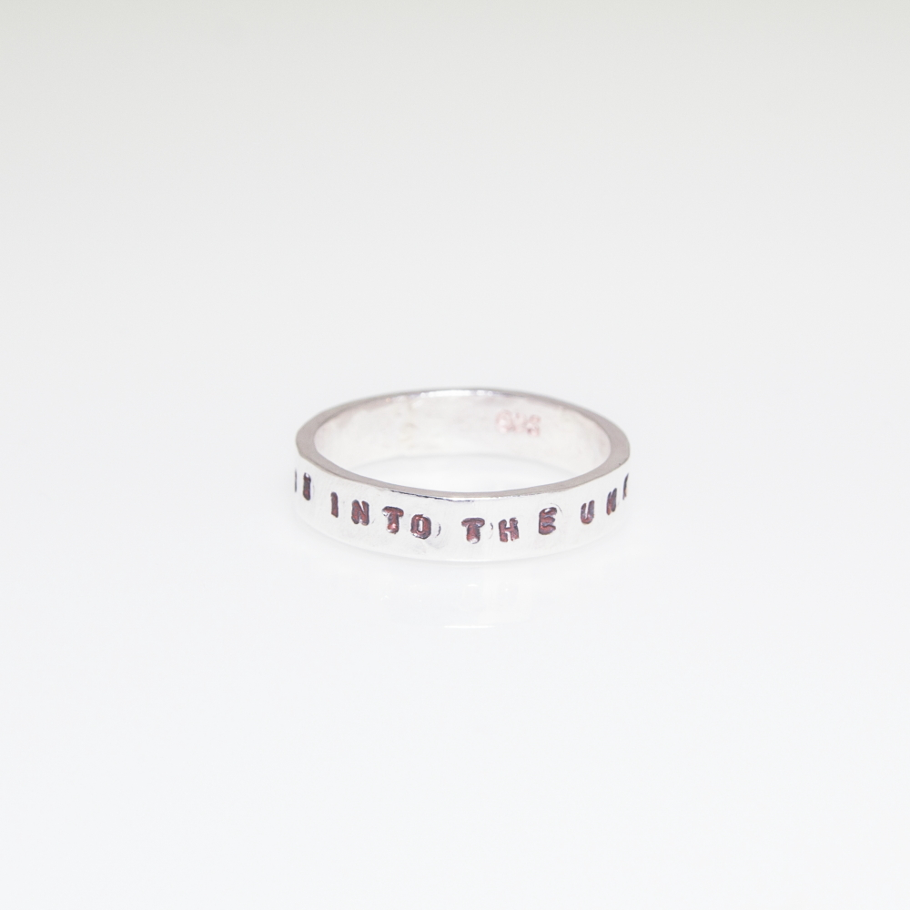 Gift Inspired Sterling Silver Ring- Personalised Jewellery UK