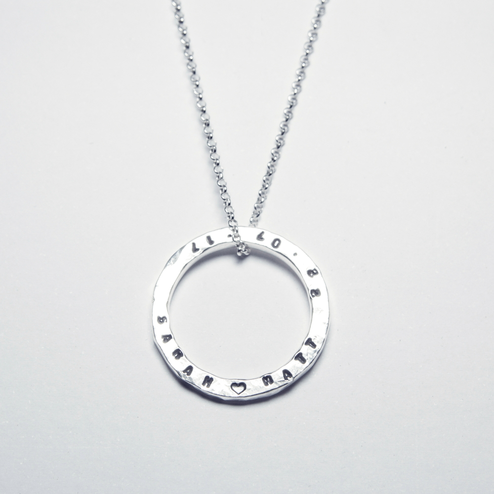 Unique Gifts- Personalised Sterling Silver Necklace