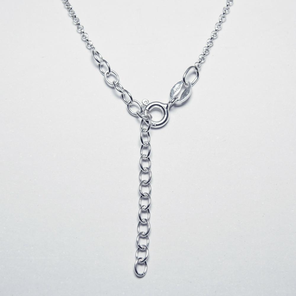 Personalised Necklace in Stering Silver