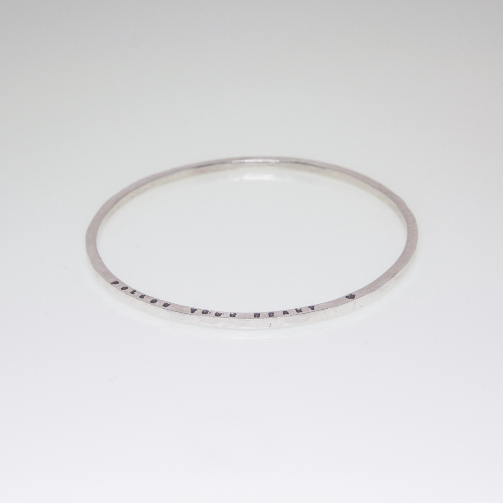 Personalised Bracelet- Sold Sterling Silver