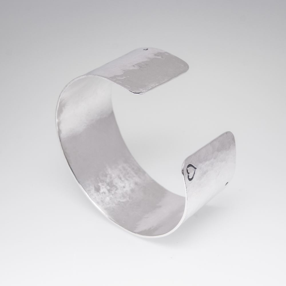 Silver Plate Bangle- Personalised Jewellery UK
