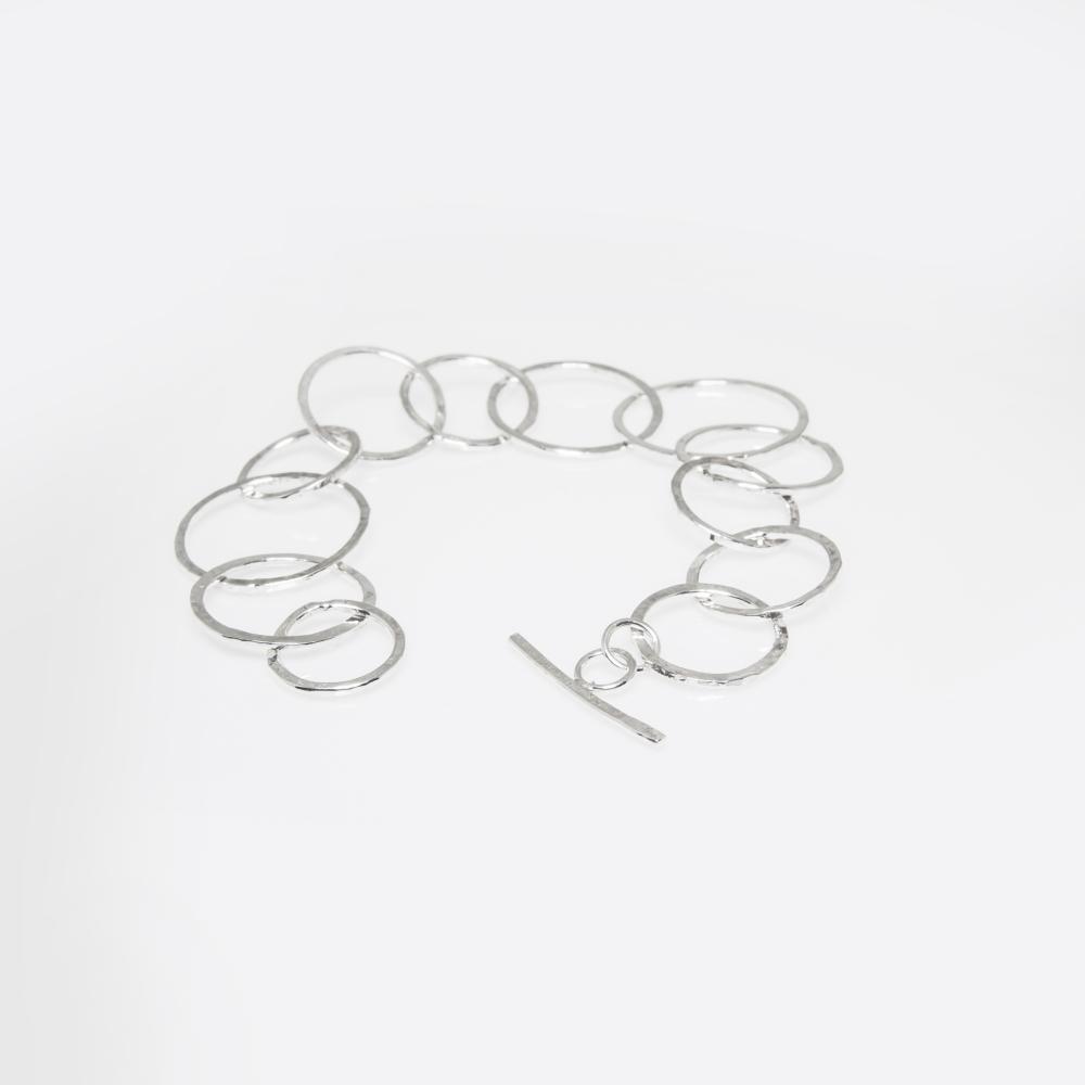 Handmade Bespoke Designs- Sterling Silver Bracelet