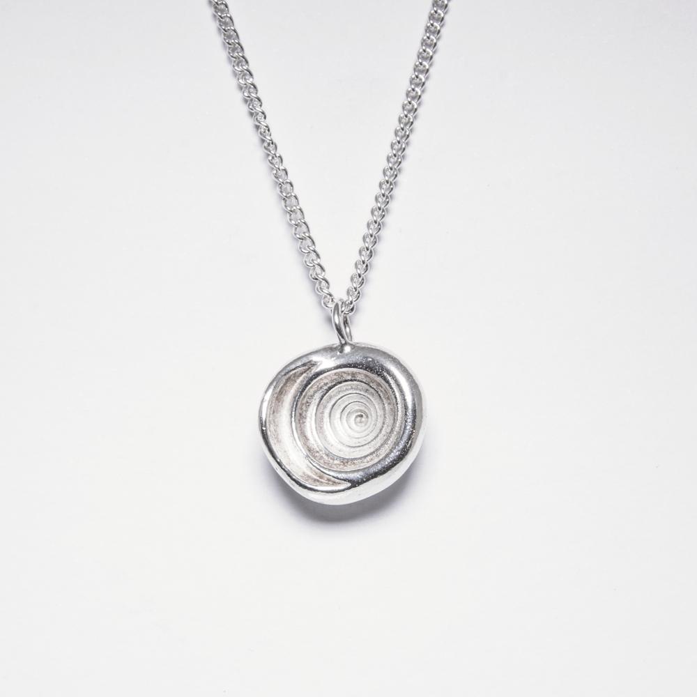 Bespoke Jewellery- Sterling Silver Shell Necklace