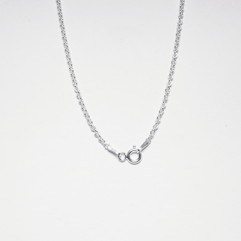 Sterling Silver Trendy Necklace