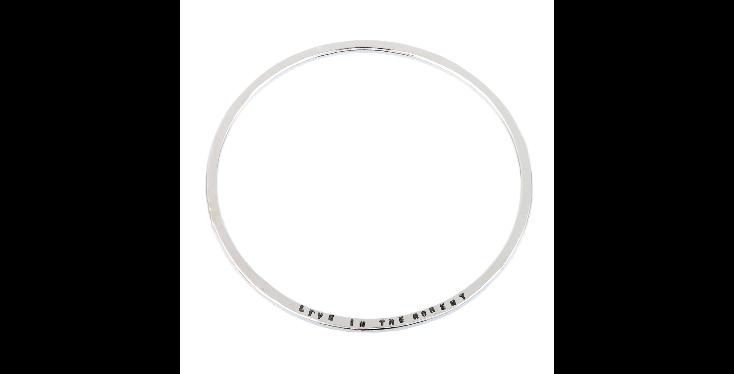Personalised Jewellery- Sterling Silver Message Bracelet