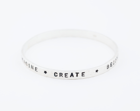 Personalised Gift Ideas- Sterling Silver Bangle
