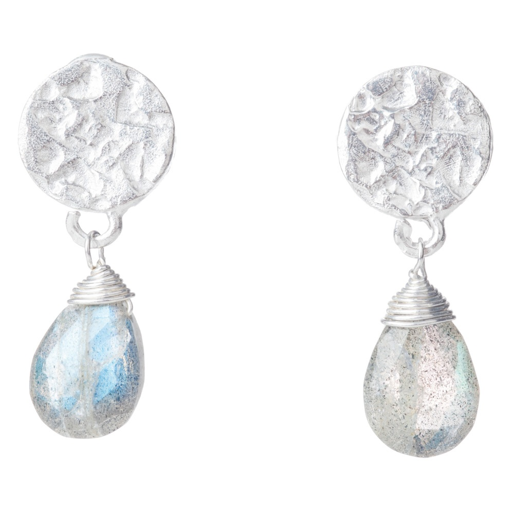 Classic Drop Earrings- Sterling Silver Designer Pieces