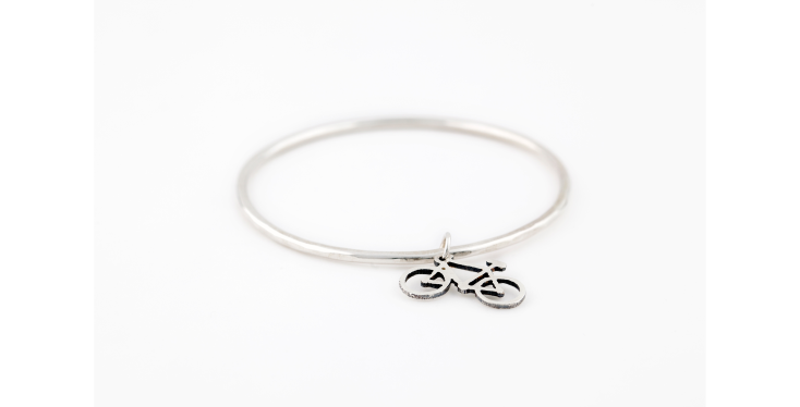 Bike Jewellery Sterling Silver- gift ideas for cyclists