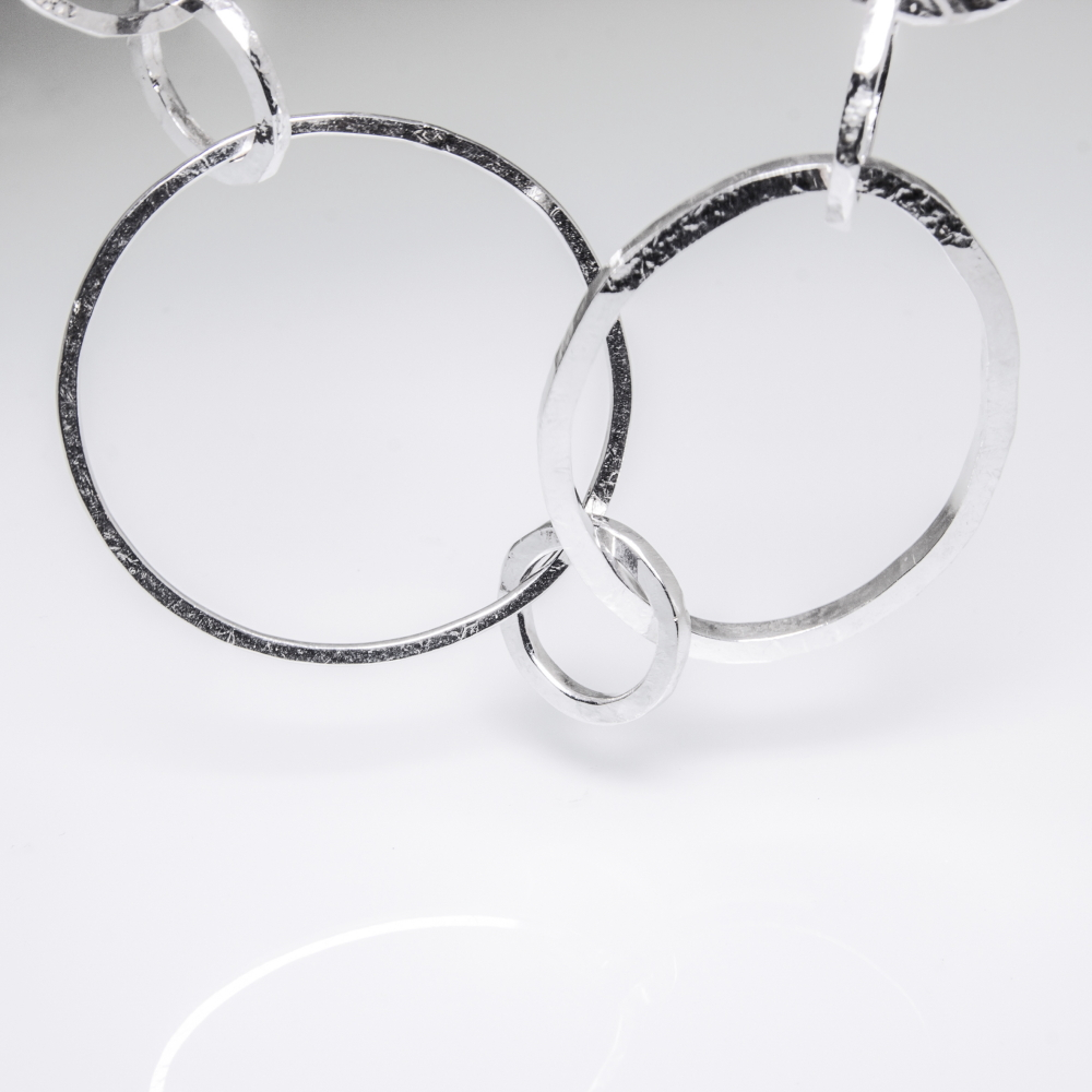 Bespoke Jewellery Collections- Sterling Silver Trendy Necklace