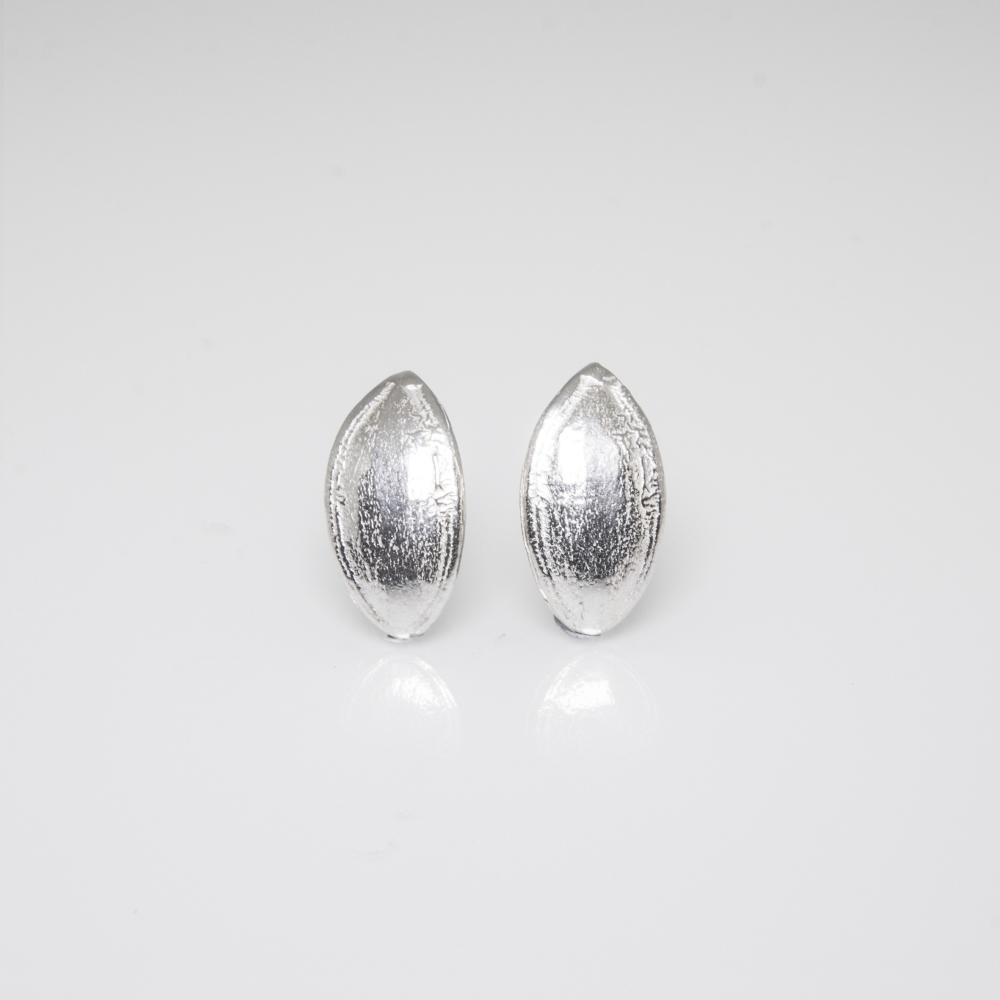 Stud Earrings by Castle Collection- Sterling Silver